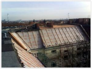 Dach Rückbau